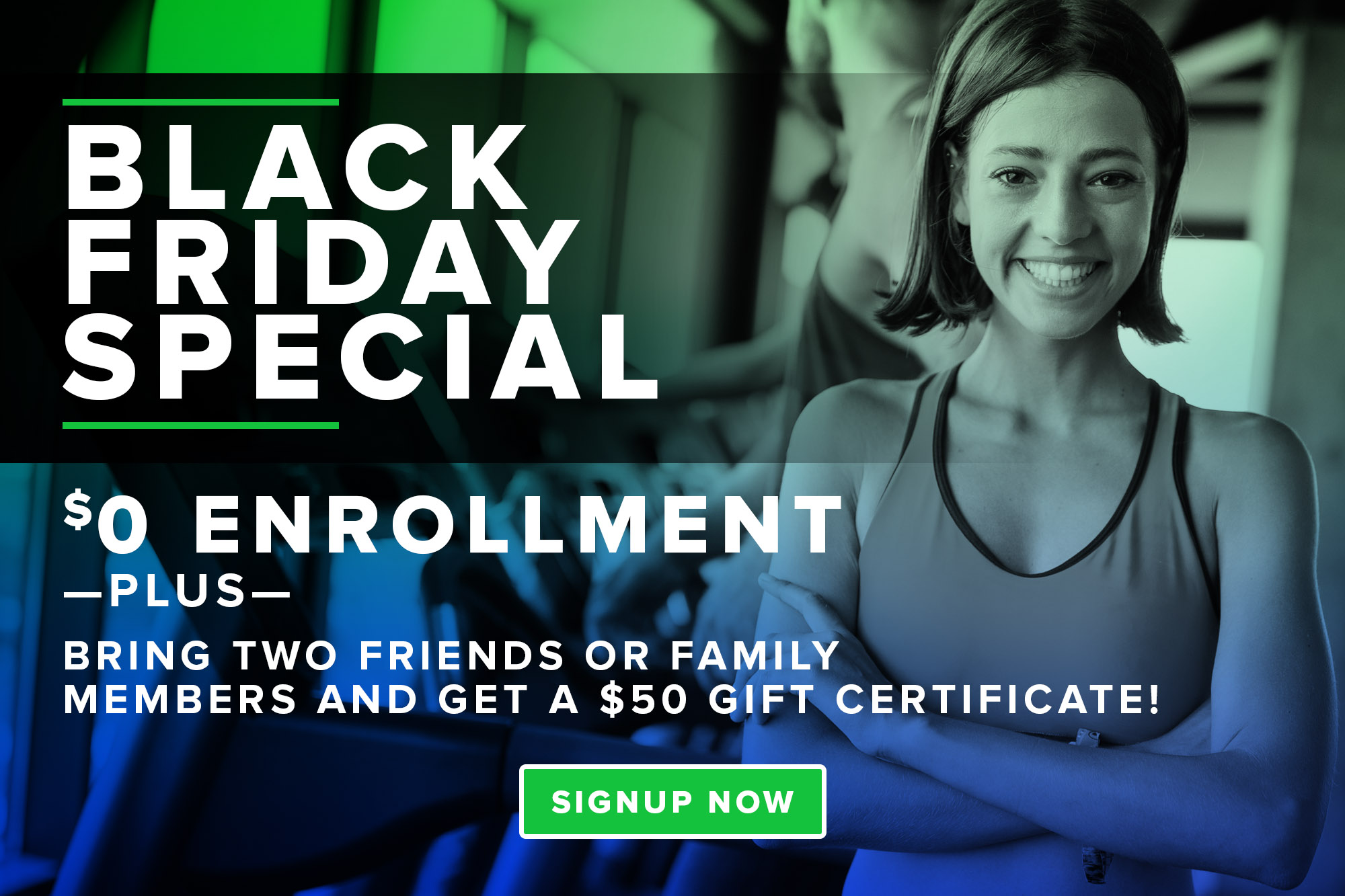 Black Friday Special Get Fit Athletic Club